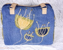 Recycled jeans handbag No 4