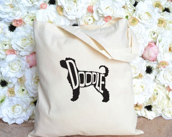 Labradoodle Tote - Goldendoodle Tote - Doodle Tote