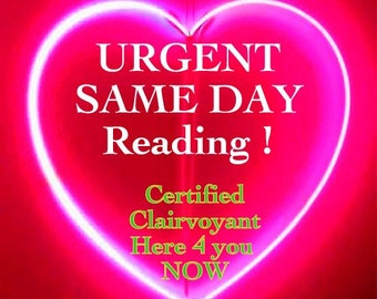 Same Day Psychic Reading 24/7 TEXT or Chat NOW !