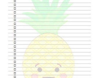 """Notepads  """"Ananas to do"""""""