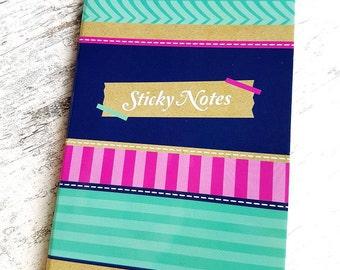 "Stickynotes book ""Marine"""