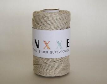 Ganxxet Linen Twine; macrame cord, macrame rope, macrame string