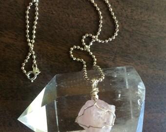 Raw Pink Morganite