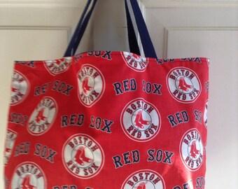 Boston Red Sox tote bag