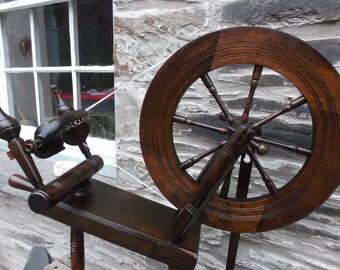 Haldane Hebridean Spinning Wheel Fully Restored