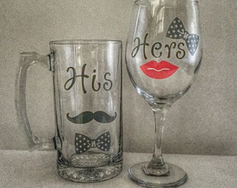 His and Hers drinkware