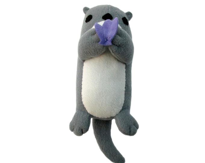 Plush Otter Toy Pattern