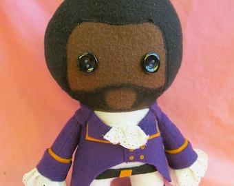 Marquis de Lafayette Hamilton Fleece Plush Doll
