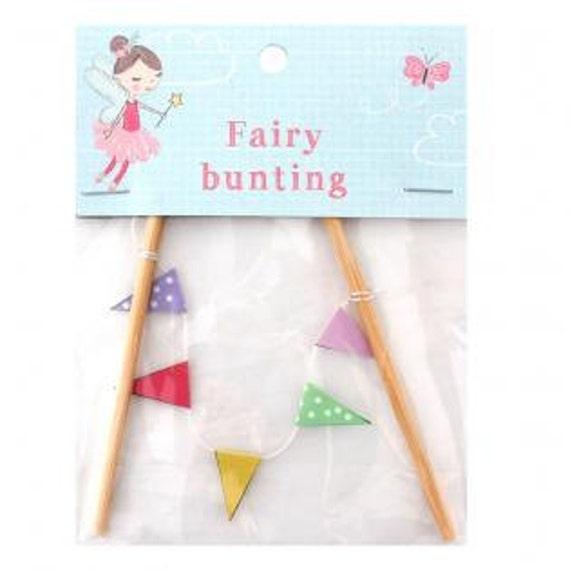 Fairy bunting fairy garden bunting fairy door bunting for Little fairy door accessories