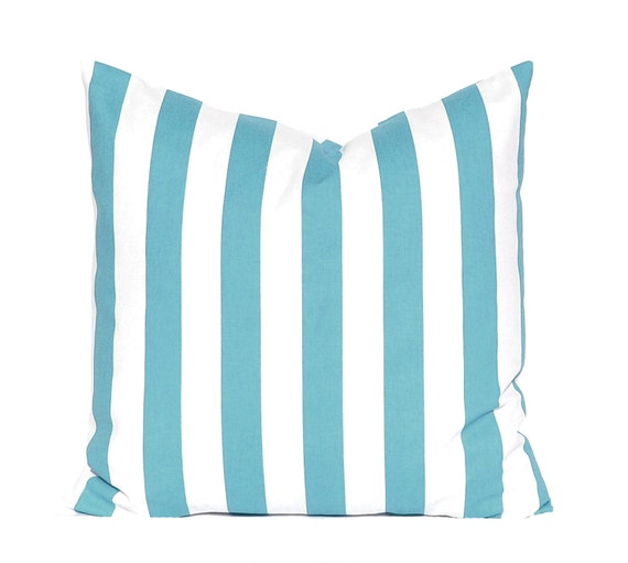 Coastal Blue Pillow Cover Throw Pillow Blue Throw Pillow