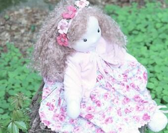Alyssa, inspired Waldorf doll, handmade doll