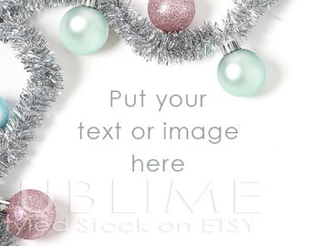 Styled Stock Photography / Christmas Stock / Christmas Background / Christmas MockUp / Christmas Desktop / Christmas Styled / StockStyle-610