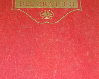 Interior Decorating, The Complete Book of Interior Decorating, Decor, Vintage Book, Interior Decorating Book