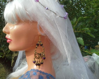 Earrings couture (Venice)