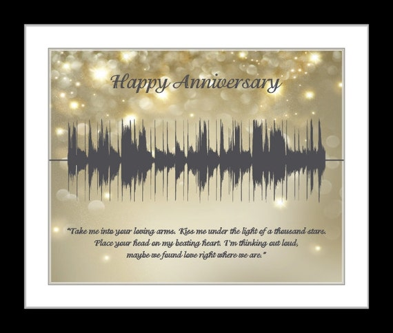 30 Year Wedding Anniversary Gift Ideas For Parents: 30 Year Anniversary Gift For Parents By CreativeWavePrints