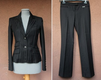 1990's Galliano Suit - Vintage Galliano Two Pieces - Blazer and Pants