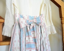 Unique Girls Colonial Dress Related Items Etsy