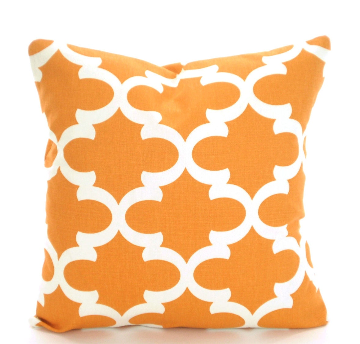 Orange Decorative Pillows Couch : Orange Pillow Covers Decorative Throw Pillows Cushions