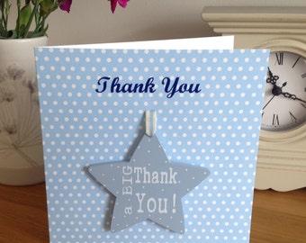 Thank You' Star Keepsake Card