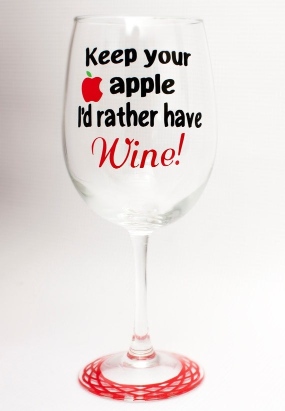 Teacher Wine Glass/Teacher Appreciation/Christmas/Birthday/New School Year/End of Year Gift
