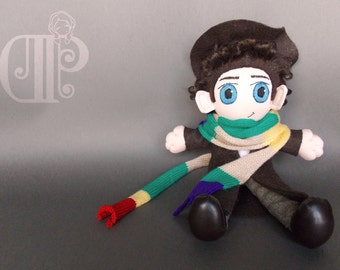 Fourth Doctor Doctor Who Doll Plushie Toy Tom Baker