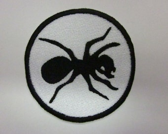 Black ANT  Iron on patch