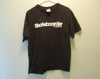 SALE 90s Skateboarder Magazine T-Shirt