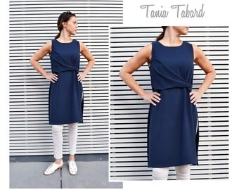 Tania Tabard - Sizes 8, 10, 12 - PDF sewing pattern for printing at home by Style Arc - Instant Download