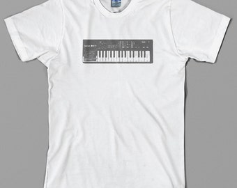 Casio SK-1 Keyboard T Shirt  - vintage music, circuit bend, bent, synthesizer, synth, vinyl, 80s, geek, gift  - All sizes & colors