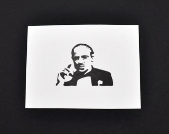 The Godfather Stamp, Hand Carved Stamp