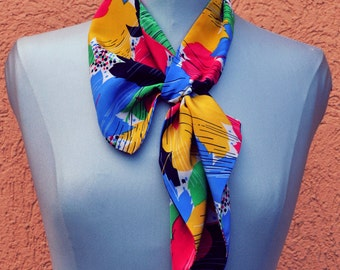 Colorful Soft Silk Scarf - Free shipping!