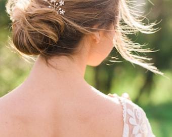 Freshwater Pearl Branch Hair Pins Flower Hair pins bridal hair pins pearl hair pins wedding hair pins beaded hair pins branch hair pins #130