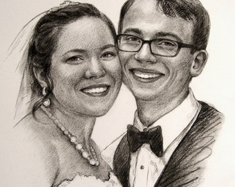 Custom drawing from your photo Pencil drawing from Personalized portrait Realistic portrait Sketch from your photo Custom Sketch Custom gift