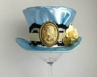 Victorian/Alice in Wonderland - Mini Top Hat