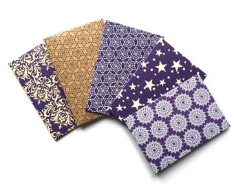 Set of 5 | Gift Card Envelopes | Mini Envelopes | Gift Card Holders | Notecard Holders for Wedding Guests