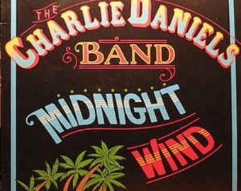 The Charlie Daniels Band - Midnight Wind Vinyl Album (1977)