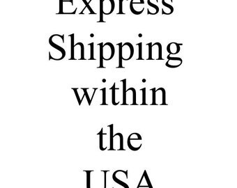 Express Shipping within the USA