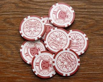 Red Oni Dealer Chip
