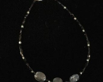 Black and Grey Kyanite Bracelet