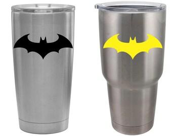 Batman Decal Etsy - Batman vinyl decal stickers