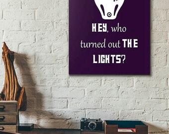 Doctor Who Poster - Vashta Nerada - Dr. Who Print - Tardis - Framed Art - Canvas Print