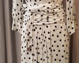 Dress Yves Saint Laurent Rive Gauche  80 s