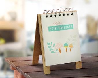 2016 Desk Easel Calendar