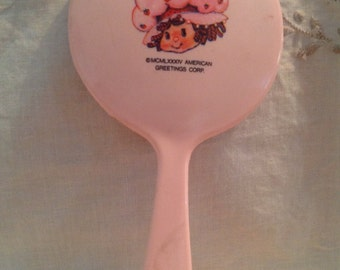 Strawberry Shortcake vintage mirror
