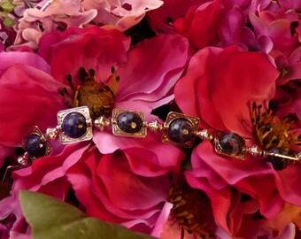 Framed Sodalite Bracelet