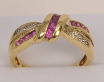 Pretty in Pink with Diamonds X16715