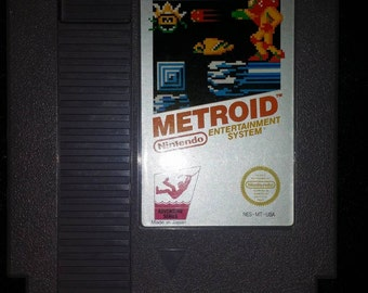 Metroid for Regular Nintendo NES Gray Label
