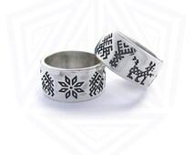 Slavic wedding rings
