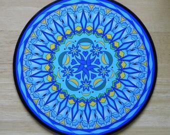 "8"" Mandala - ""Blue Moon"""