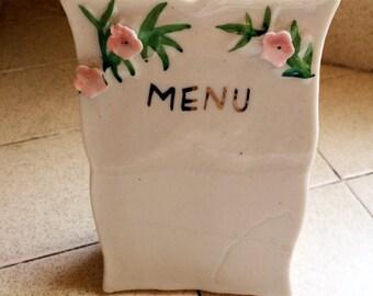 Menu Stand,Vintage Menu,Menu Board,Dining Sign,Dining Decor,Gourmet Gift,Restaurant Sign,Kitchen Art,Menu Sign,Cooks Sign,Menu Art,Cook Gift